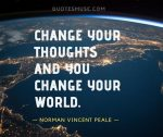 Norman Vincent Peale quotes for Changing Life