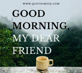 wish a friend good morning