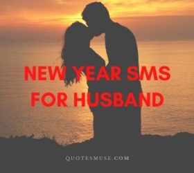 New Year sms for Husband