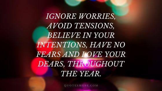 new year wish