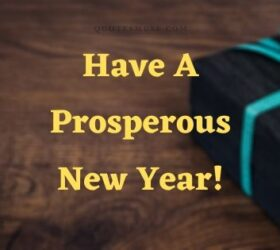 Have a prosperous new year