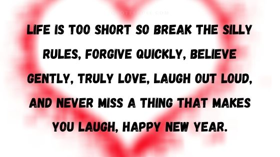 New Year Message for Love