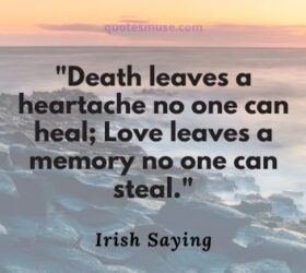 irish proverbs about death