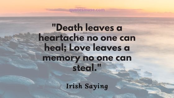 50 Irish Proverbs about Death and Eternity