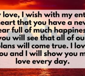 new year wishes for loved one