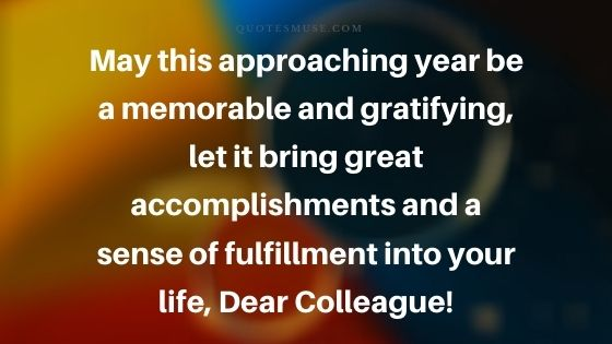 50 Professional New Year Wishes for Colleagues and Boss