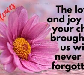 comforting words for the loss of a child comforting words for loss of son