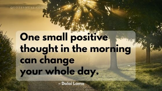40 One Small Positive Thought in the Morning