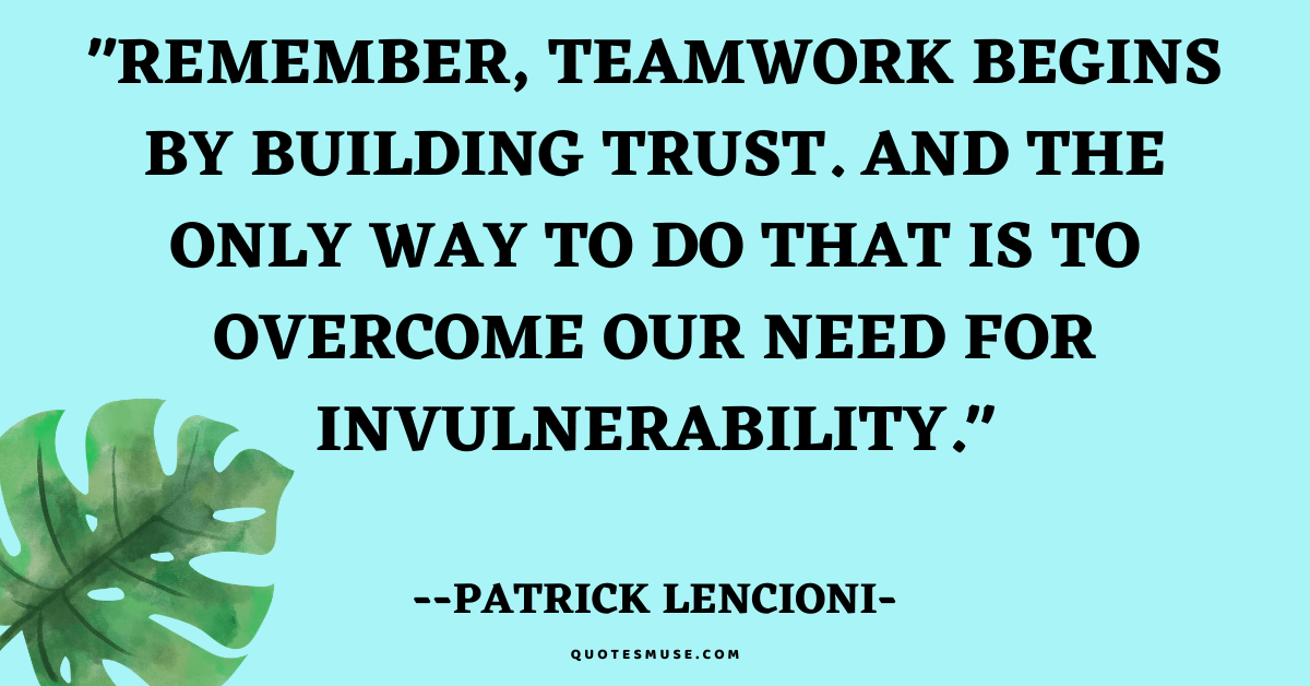 40 Inspirational Team Building Quotes and Thought of the Day