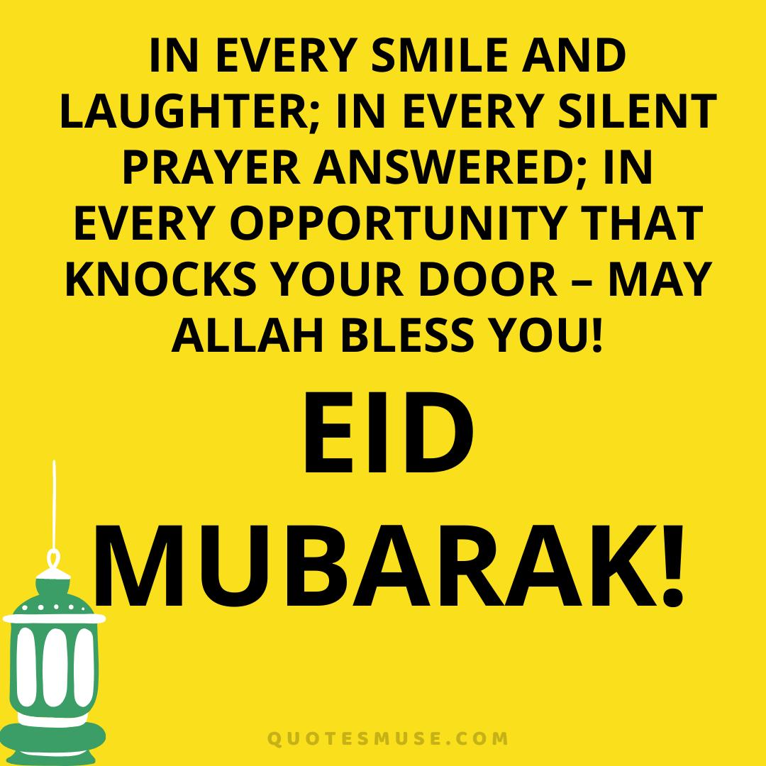40 Eid Mubarak Eid ul Fitr Wishes, Quotes, Status, Greetings