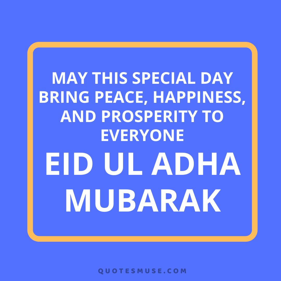 30 Eid ul Adha Quotes Greetings Prayers Wishes Messages